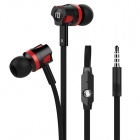 Orijinal JM26 Kulak Içi Kulaklık - Mikrofonlu Süper Bass Ses, 3.5mm Jack, Stereo, Langsdom