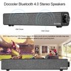 Docooler Bluetooth 4.0 Speaker Hoparlör Ev Sinama Sistemi - 4400mAh Batarya, Deep Bass, AUX-IN, En ucuzu