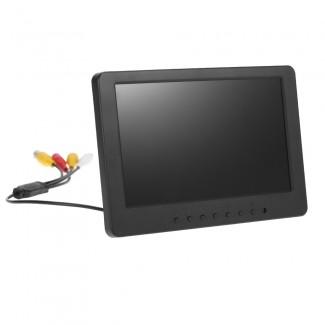 7 inch Ekran TFT LCD Monitör - 16:9 En-Boy, 1024 x 600, BNC,  AV Video, PC Güvenlik VCD DVD için Ses Desteği
