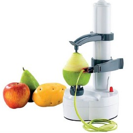Alman Teknolojisi Elektrikli Patates, Armut, Elma Kabuğu Soyma Makinesi - Otomatik Meyve Soyucu / TV Ürünü