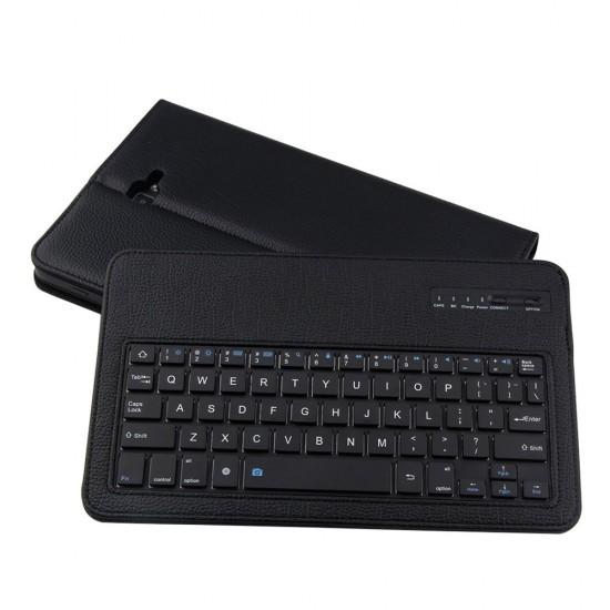 Samsung Galaxy Tab 10.1 için Bluetooth Klavyeli Stand Kılıf (T580, T585, T585N)