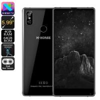 64GB M-Horse Pure 2 Android Cep Telefonu - 4GB RAM, 5.99 Inch Ekran, Android 7, Bezel-Less, Dual Arka Kamera
