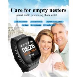 GPS WiFi Akıllı Kol Saati telefon - Kalp Nabız Ölçer, Sport Fitness Saat