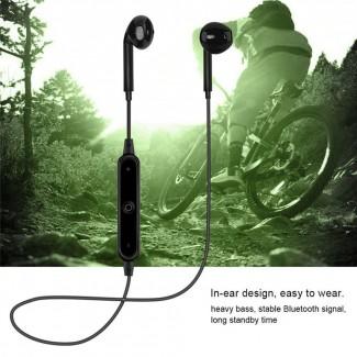 Bluetooth 4.1 Stereo Kulaklık Dahili Mikrofon Ses Kontrolü - Tüm BT özellikli Aygıtlar için Spor Müzik Kulaklık