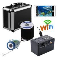 Kablosuz WIFI Sualtı Balıkçı Balık Bulucu Kamera - Sualtı Balık Dedektörü, Sualtı Görüntüleme Cihazı