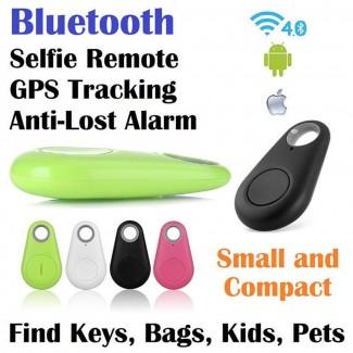 Bluetooth 4.0 GPS Tracker Bulucu - Akıllı Alarm, Anti-Kayıp Cihazı, Selfi Çekimi, Ses Kaydedici