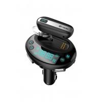 1.33 inch Ekranlı Bluetooth 4.0 Araç Bluetooth MP3 Player - USB ve SD Kart Desteği, Çıkarılabilir Bluetooth Kulaklık