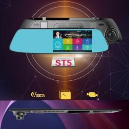 5.0 inch 720P Arac Dikiz Ayna DVR Kamera - 140 Derece FOV, Park Kamerası, Hareket Algılama, G-Sensör
