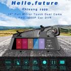 10 inch Full HD 1080P Araç Dikiz Ayna Video DVR Kaydedici - Gece Görüş, Su Geçirmez Geri Vites Arka Kamera, Full HD 1080P