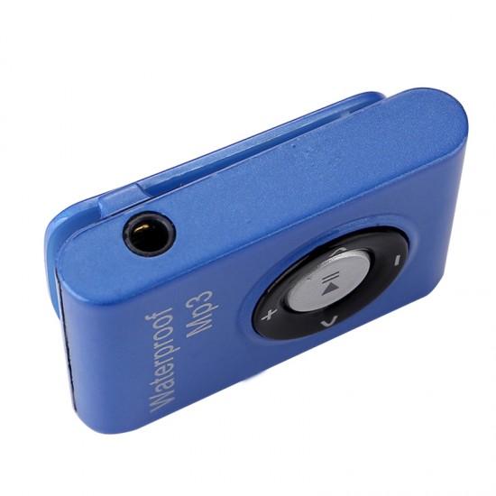 4GB / 8GB Hafızalı IPX8 Su Geçirmez Yüzücü MP3 Player - Clip-on Apple Shuffle Görünüm, FM Radio